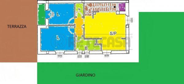Appartamento in vendita a Monteroni d'Arbia, 3 locali, prezzo € 240.000   Cambio Casa.it