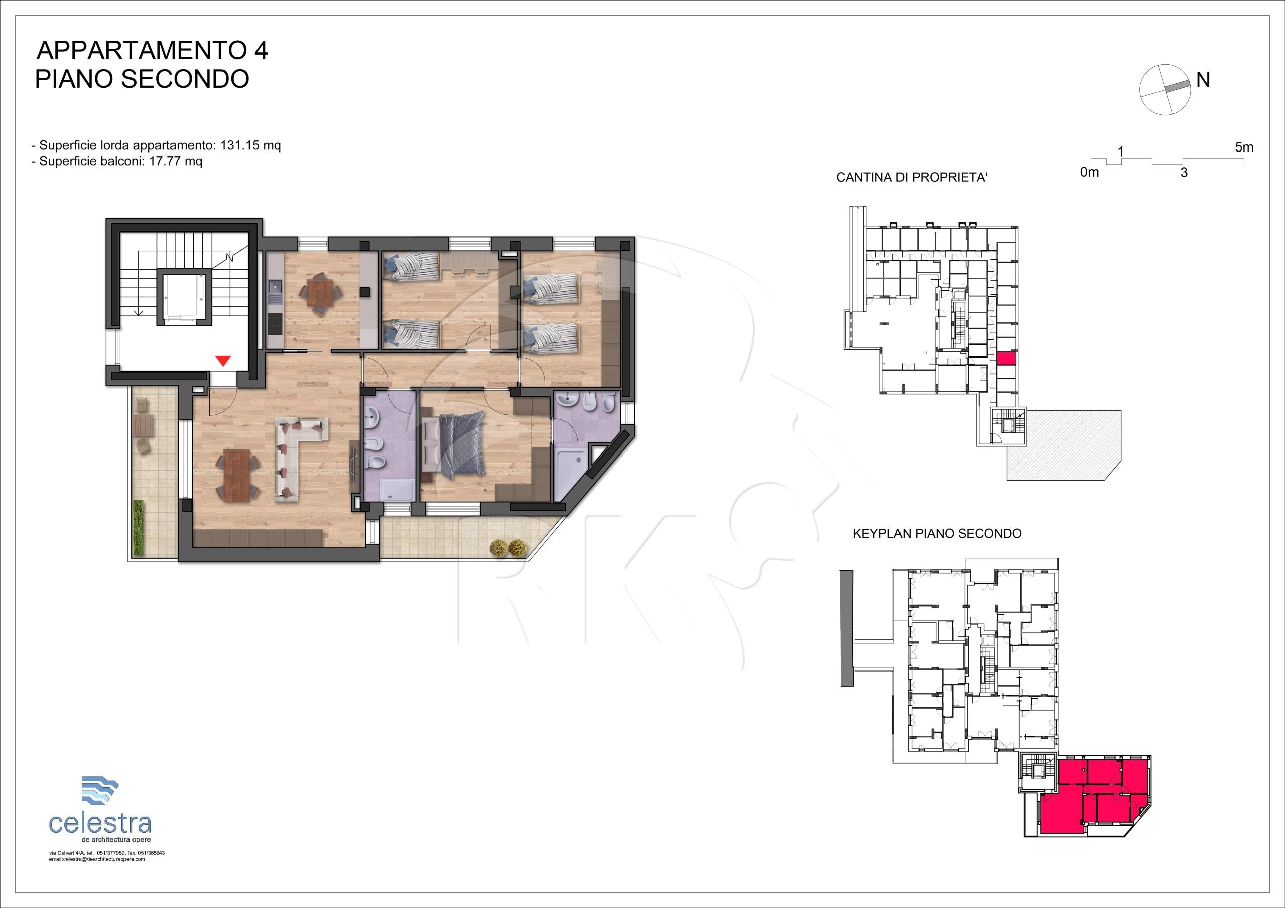 Appartamento pentalocale in vendita bologna san vitale via for Compenso agenzia immobiliare