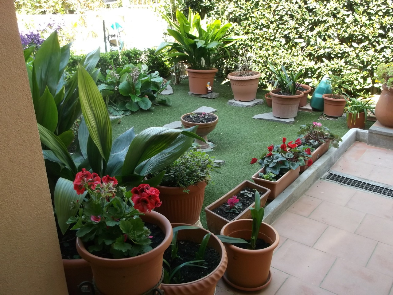 BH - Giardino 1, Ingresso e Passo Rifatto Lato N-O