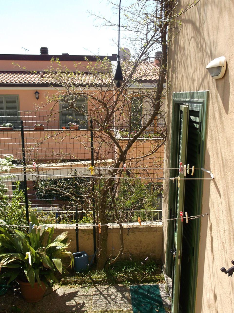 MC - Giardino 3 e Bouganville da finestra camera,