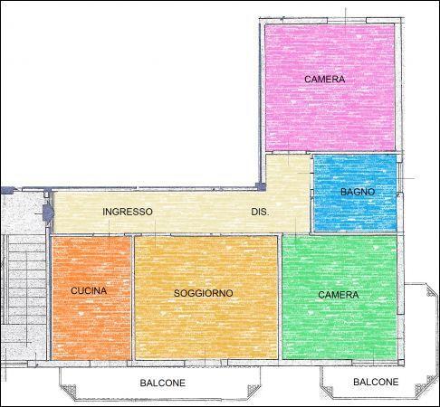 Appartamento in vendita a Coccaglio, 5 locali, prezzo € 115.000 | Cambiocasa.it