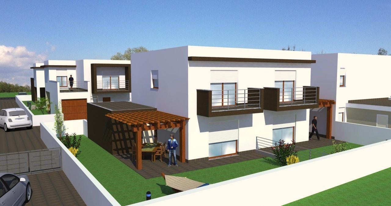 Progetti case ville ville e villette moderne progetti e for Progetti ville bifamiliari moderne