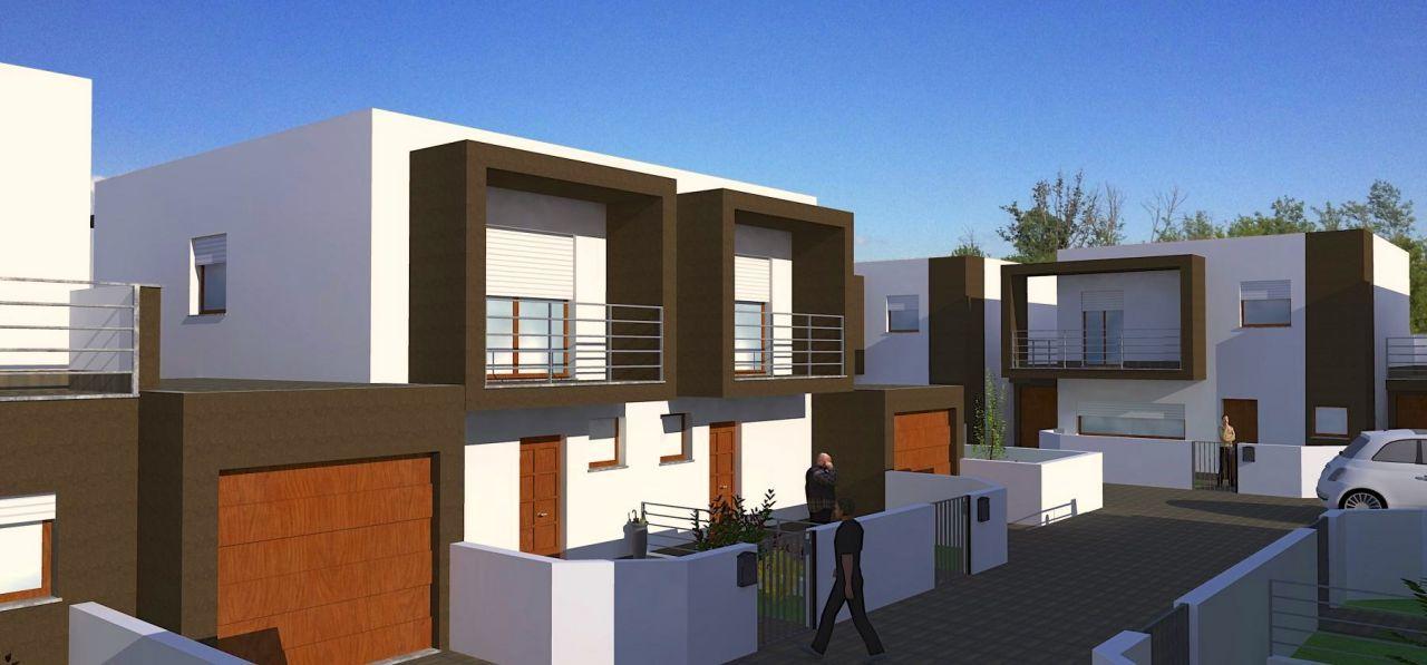 Villette moderne progetti progetti esterni ville moderne for Progetti di casa sollevati