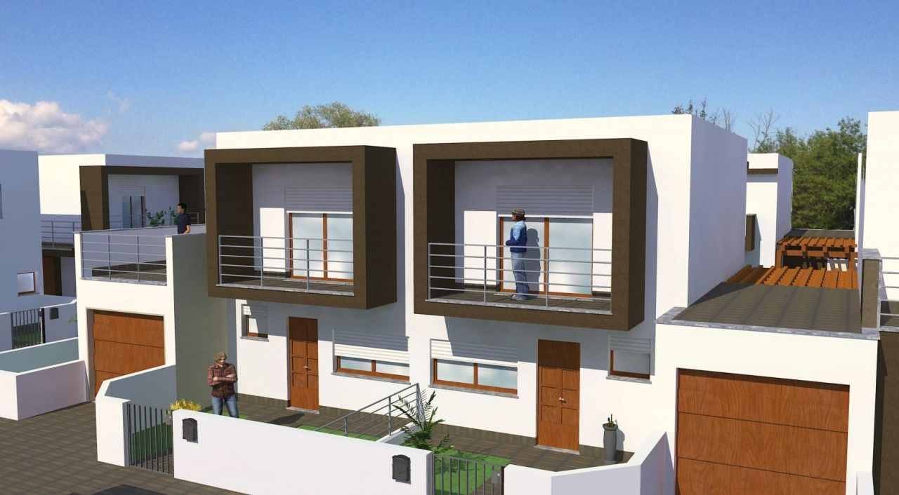 Villa bifamiliare in vendita turate progetto kasa for Ville bifamiliari moderne