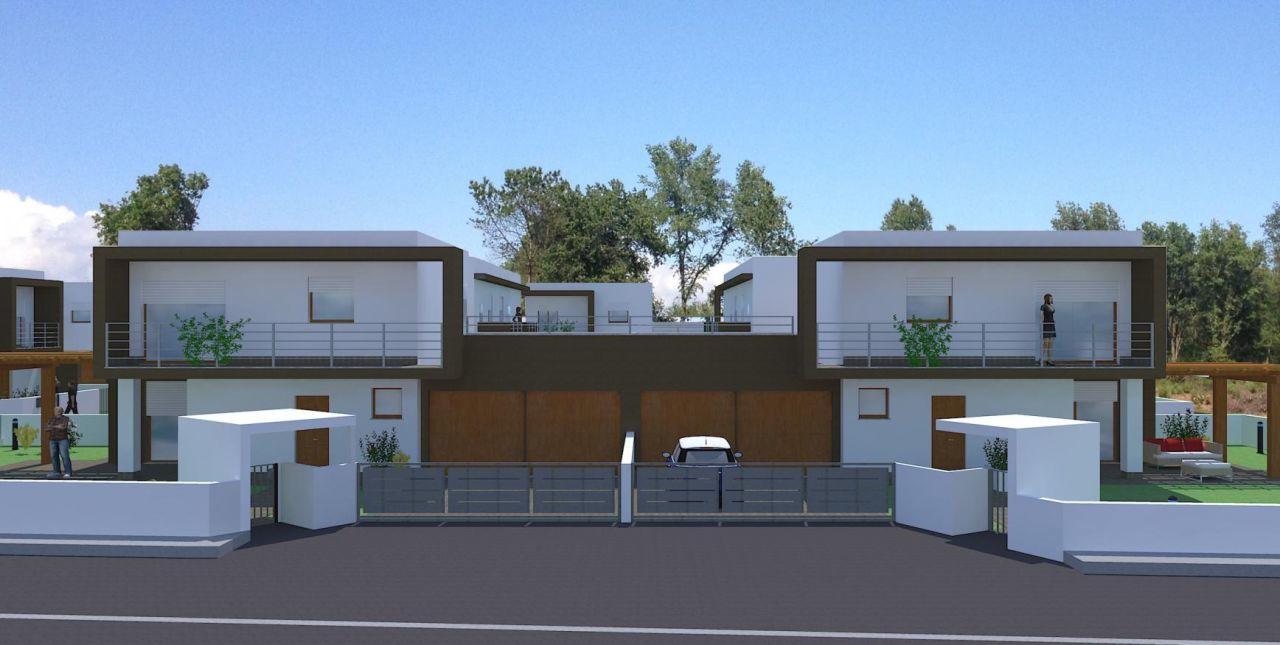 Eccellente progetti di ville moderne pc41 pineglen for Ville bifamiliari moderne