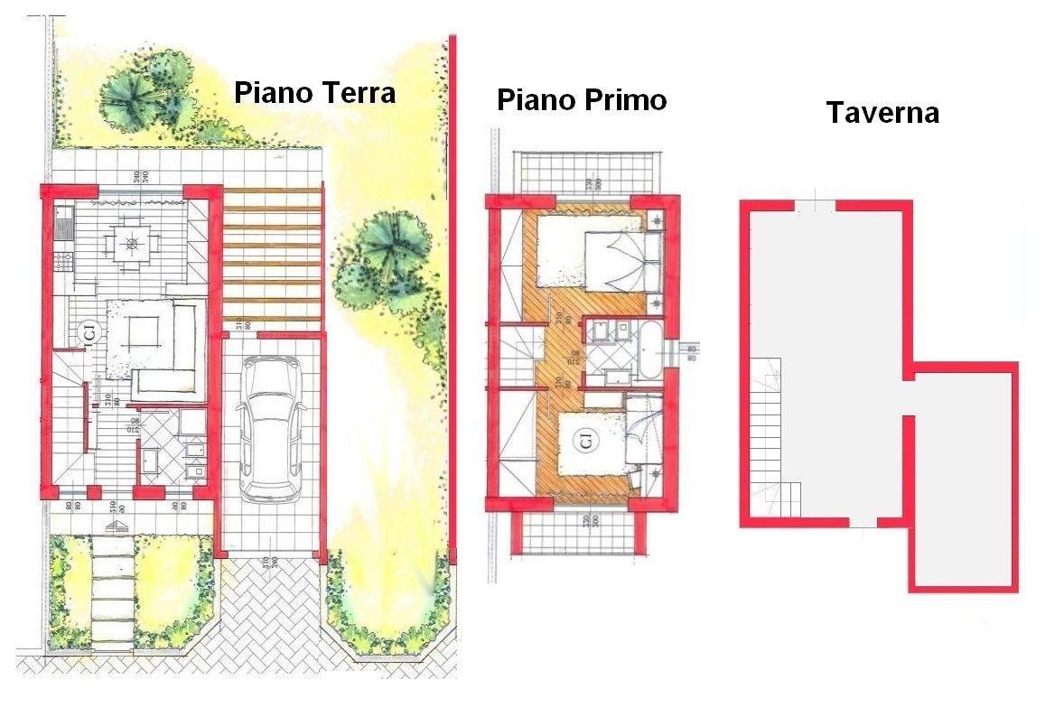 Villa bifamiliare in vendita turate progetto kasa for Planimetrie moderne della fattoria