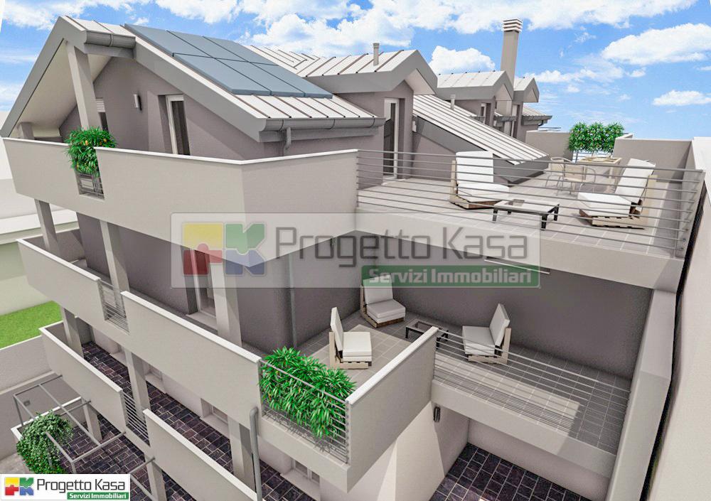 3.Appartamenti con terrazzi