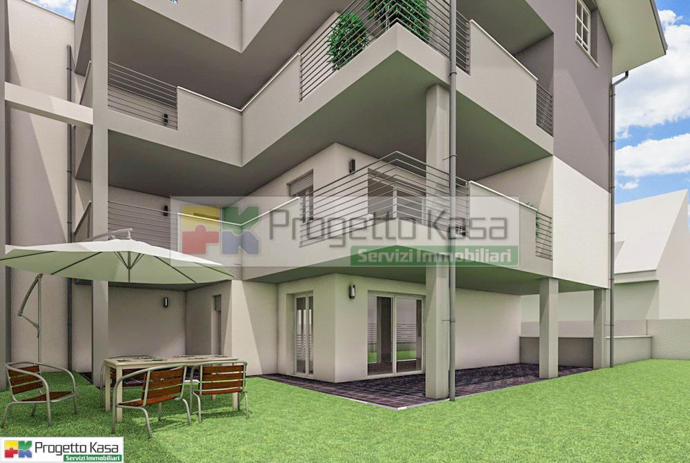 appartamenti con giardino
