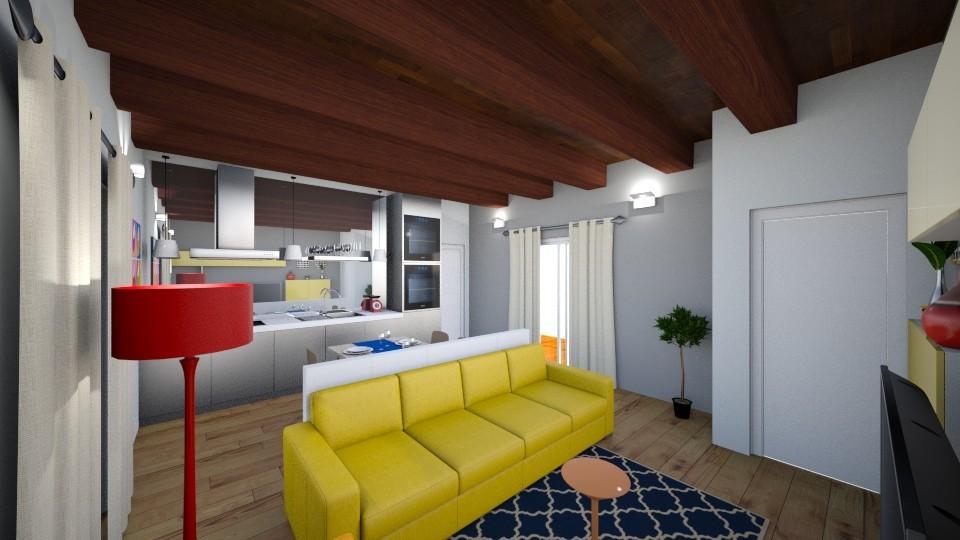 mozzate appartamento con terrazzo
