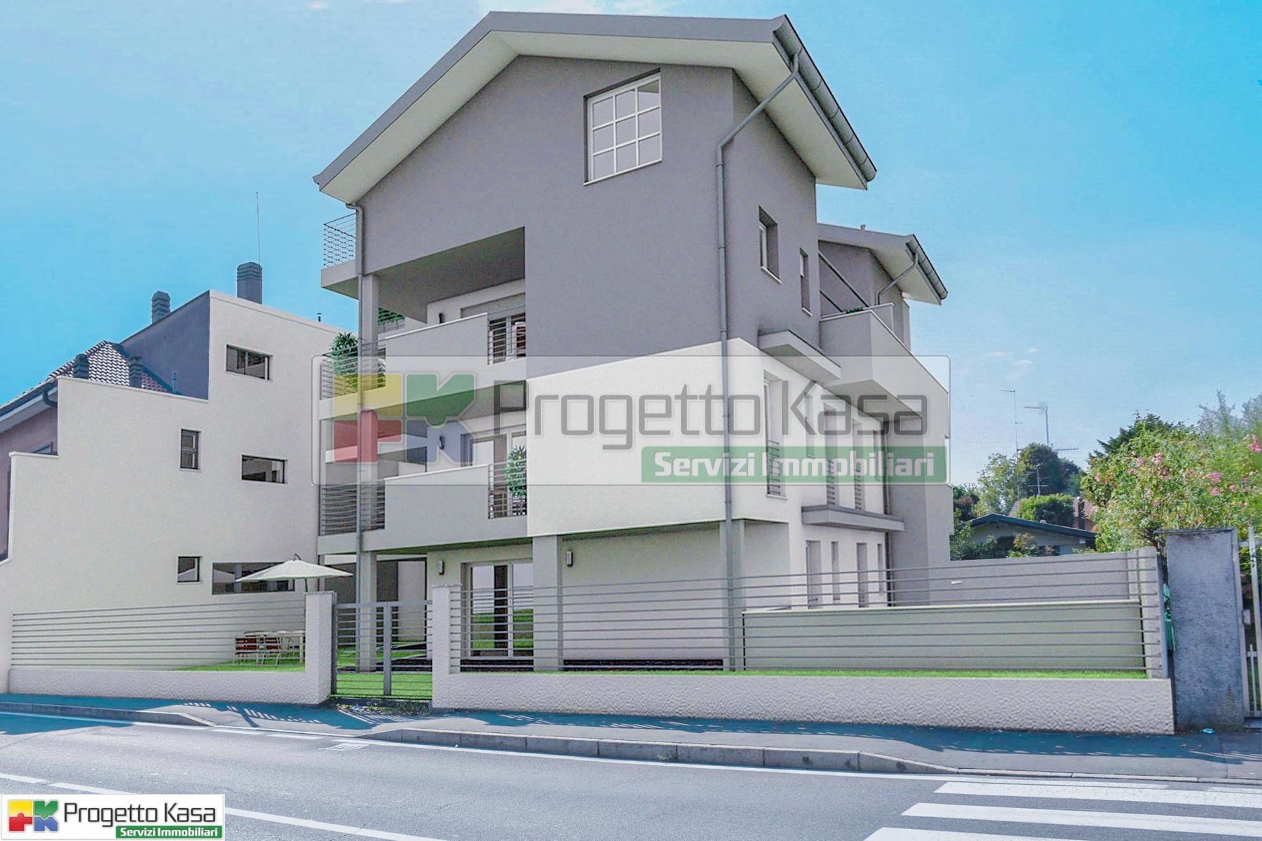 Saronno appartamenti con terrazzi