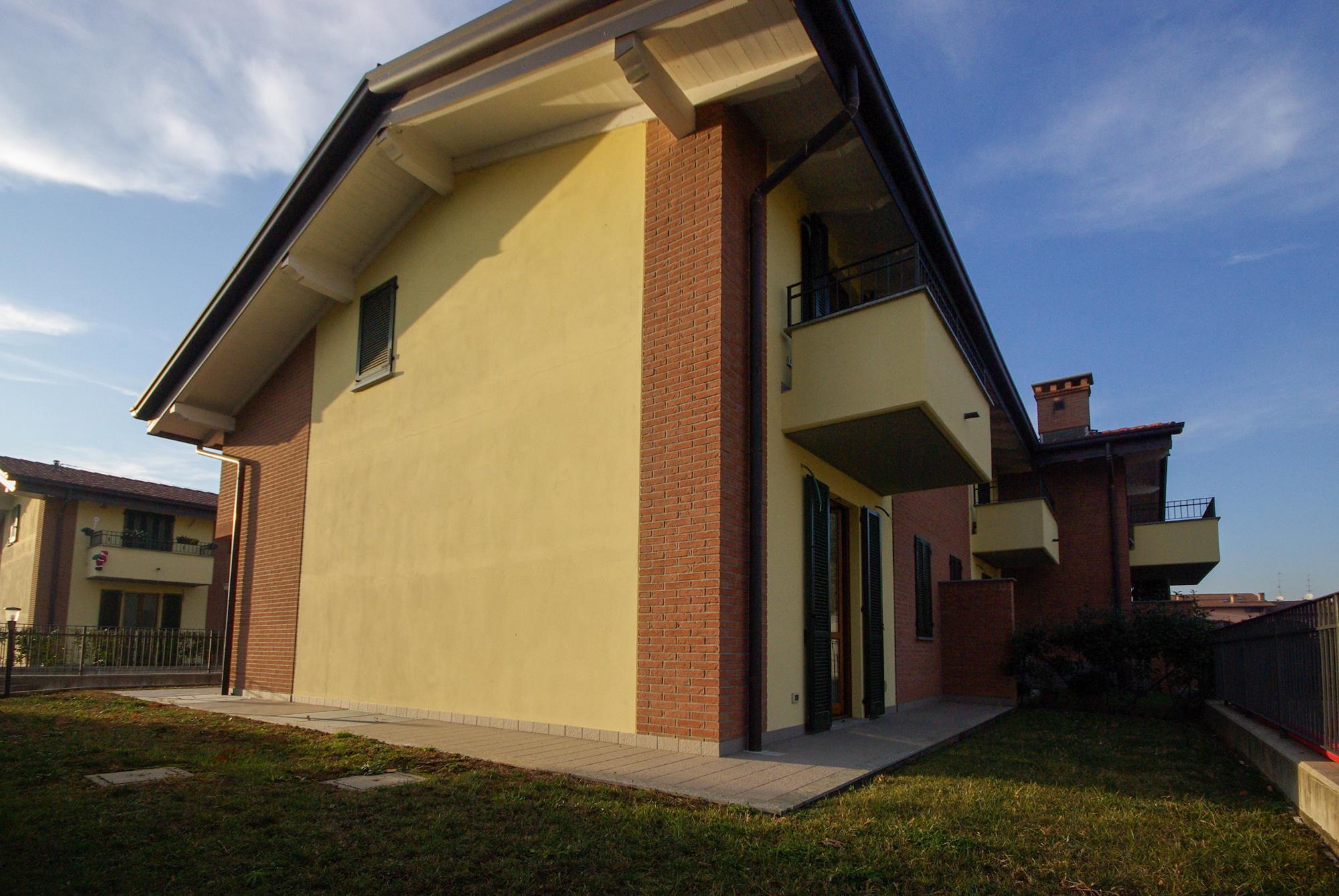 Villa di testa nuova costruzione