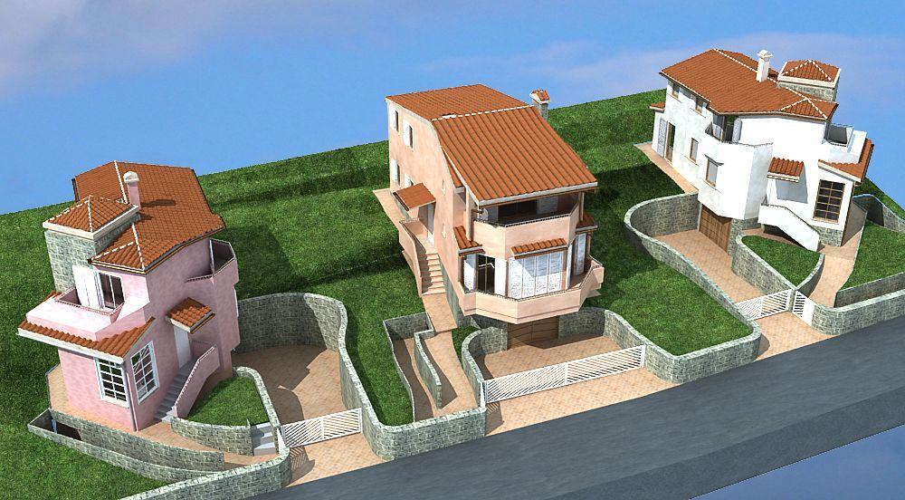 Centro tecnico immobiliare s a s for Planimetrie di mini palazzine