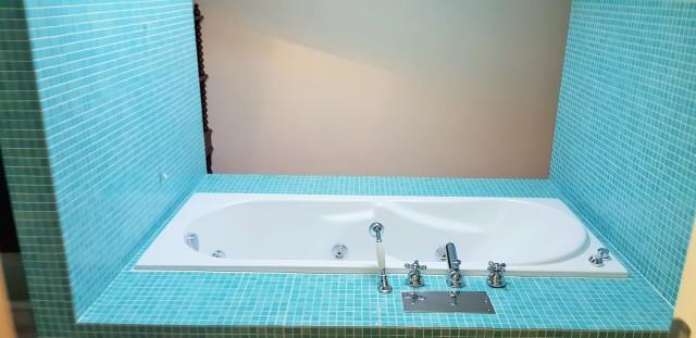 vasca idro piano mansarda