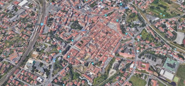 foto aerea  mappa