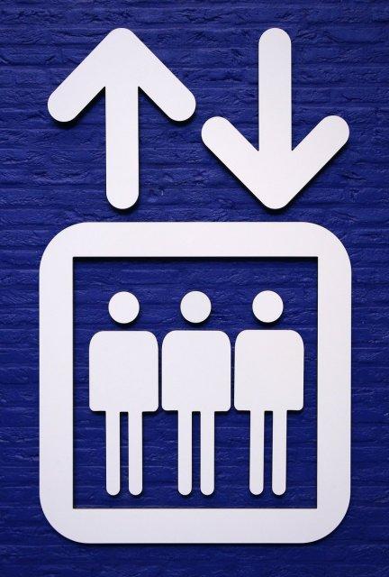 ascensore simbolo