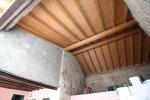 portico travato in legno
