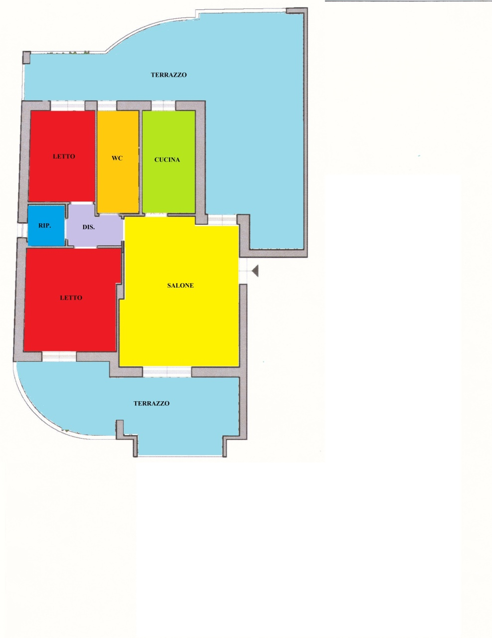 Appartamento in vendita Rif. 10589642