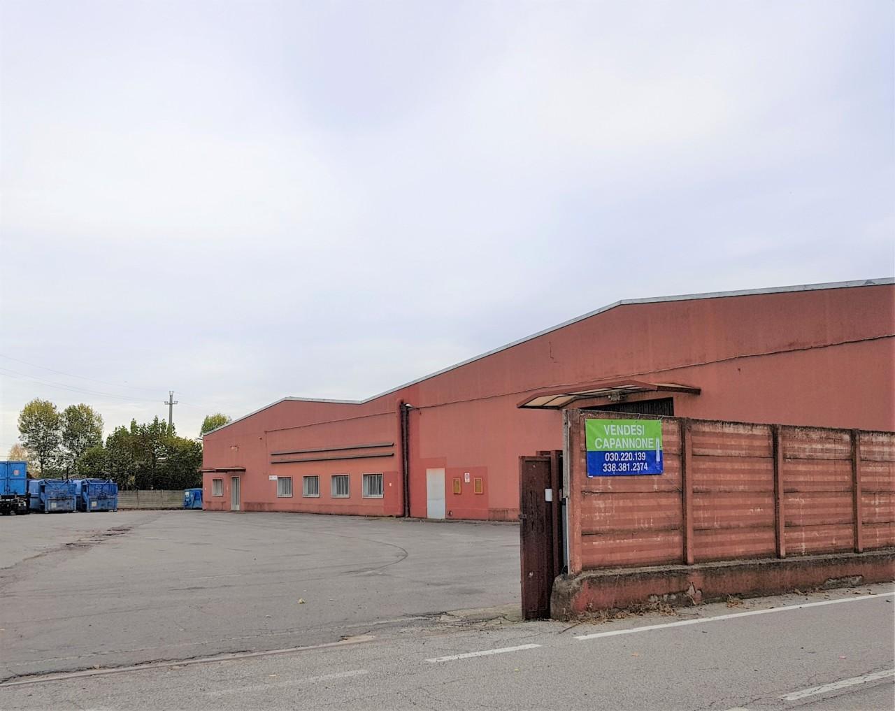 Capannone / Fondo - Industriale/Artigianale a Maclodio Rif. 9854547