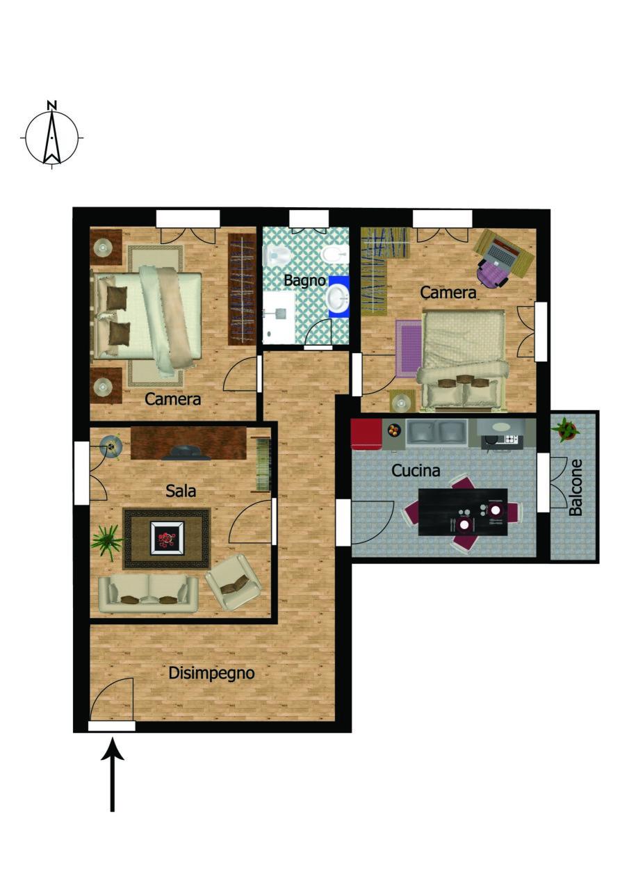 Appartamento in buone condizioni in vendita Rif. 4149922