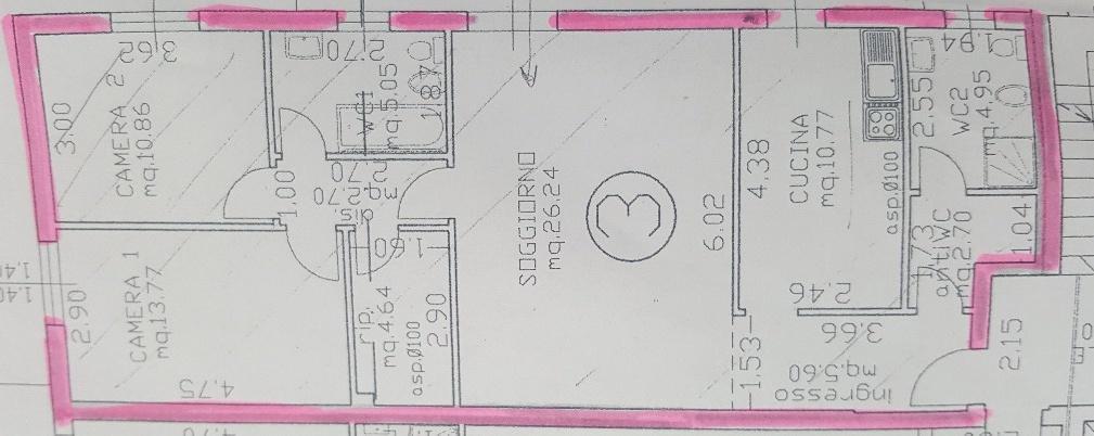Appartamento in ottime condizioni in affitto Rif. 6275477
