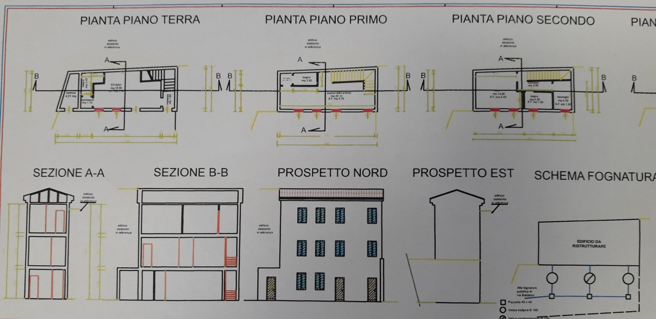 Porzione di casa in discrete condizioni in vendita Rif. 12364422