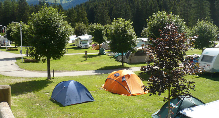 Campeggio a Lucca