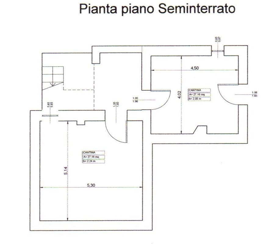Rif testana 55 0 semindipendente terratetto in vendita a for Case in vendita con planimetrie
