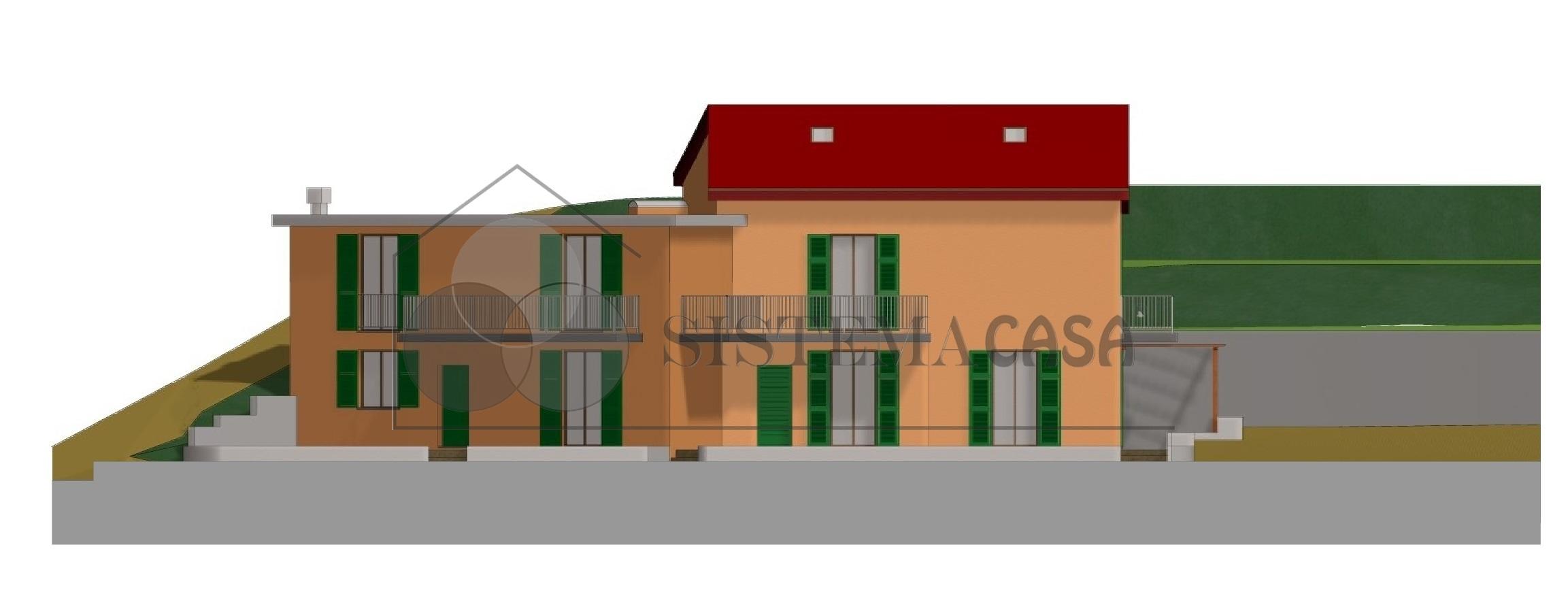 Vendita Semindipendente Villa a schiera a La Spezia, Carozzo - San Venerio (SP) - A207