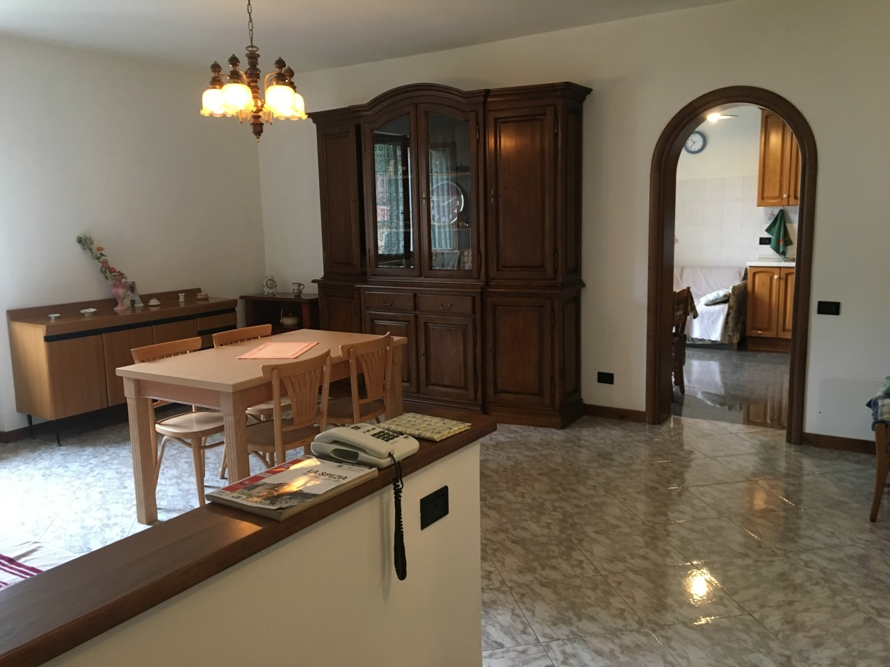Soluzione Indipendente in affitto a Riccò del Golfo di Spezia, 4 locali, prezzo € 530   PortaleAgenzieImmobiliari.it