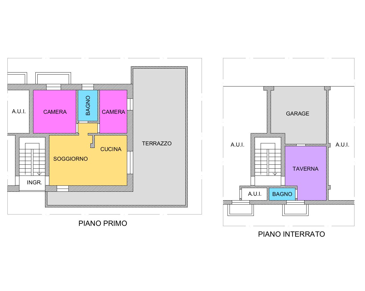 Appartamento - Bicamere a Brogliano