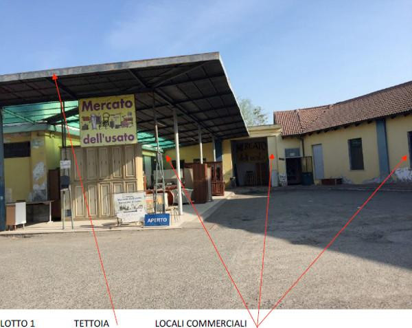 Locale commerciale a Alessandria Rif. 9863548