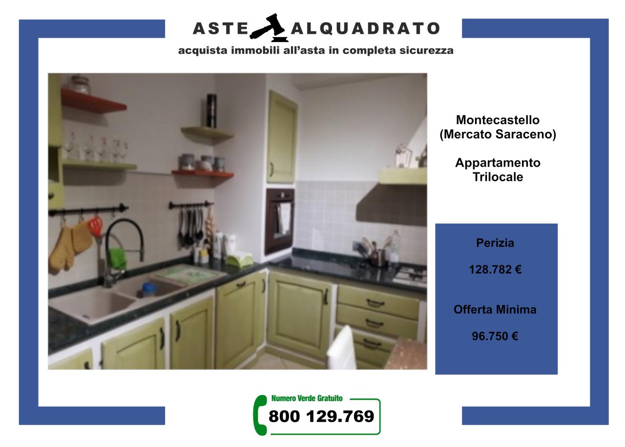 Appartamento in vendita a Mercato Saraceno, 3 locali, prezzo € 96.750 | CambioCasa.it