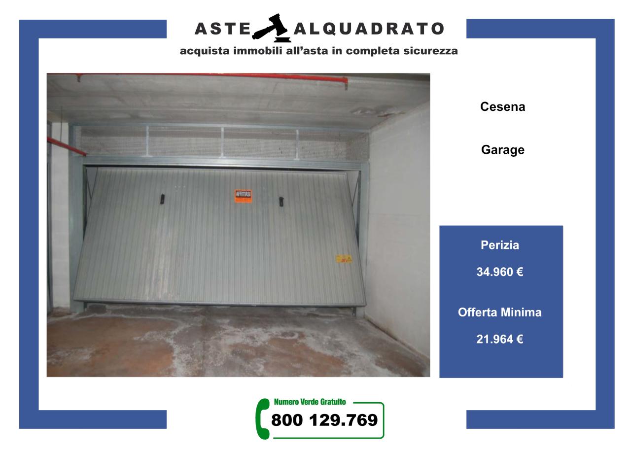 Box / Garage in vendita a Cesena, 1 locali, prezzo € 21.964 | CambioCasa.it