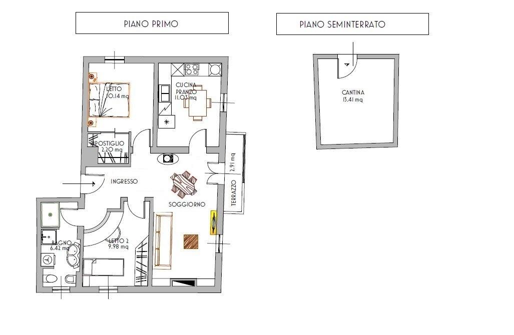 appartamento in condominio