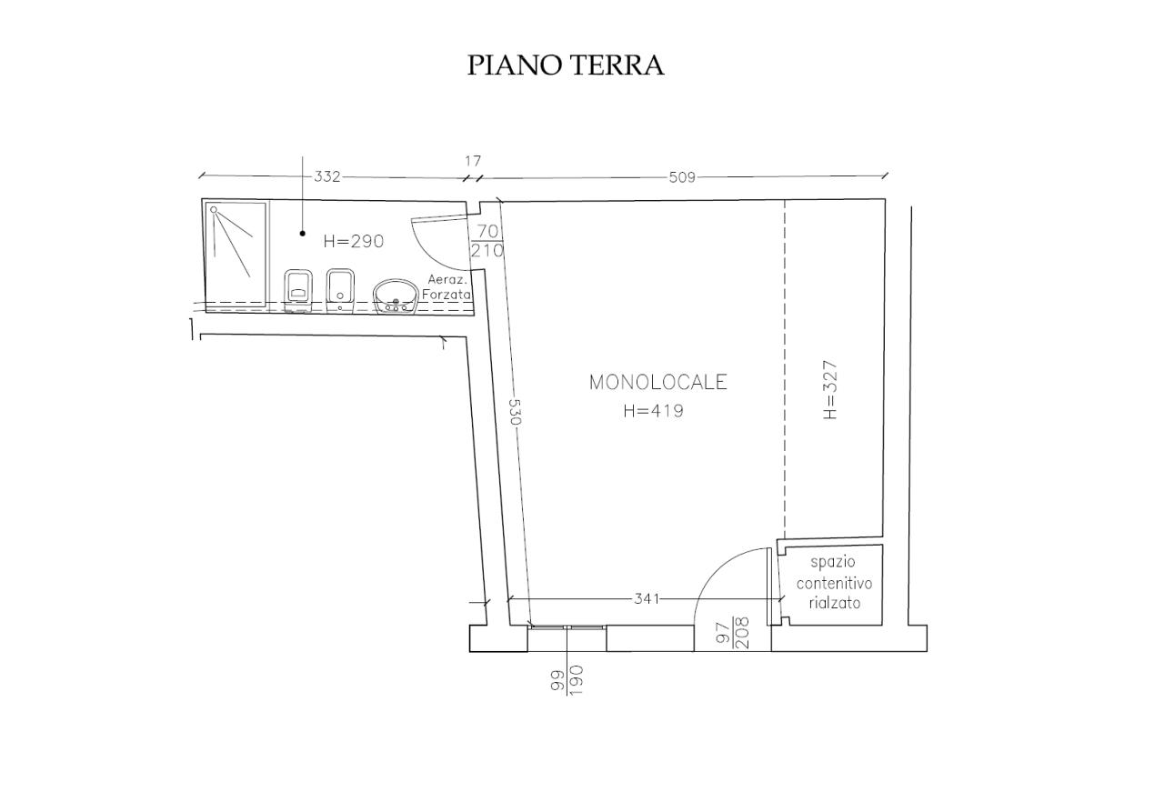 appartamento con entrata indipendente