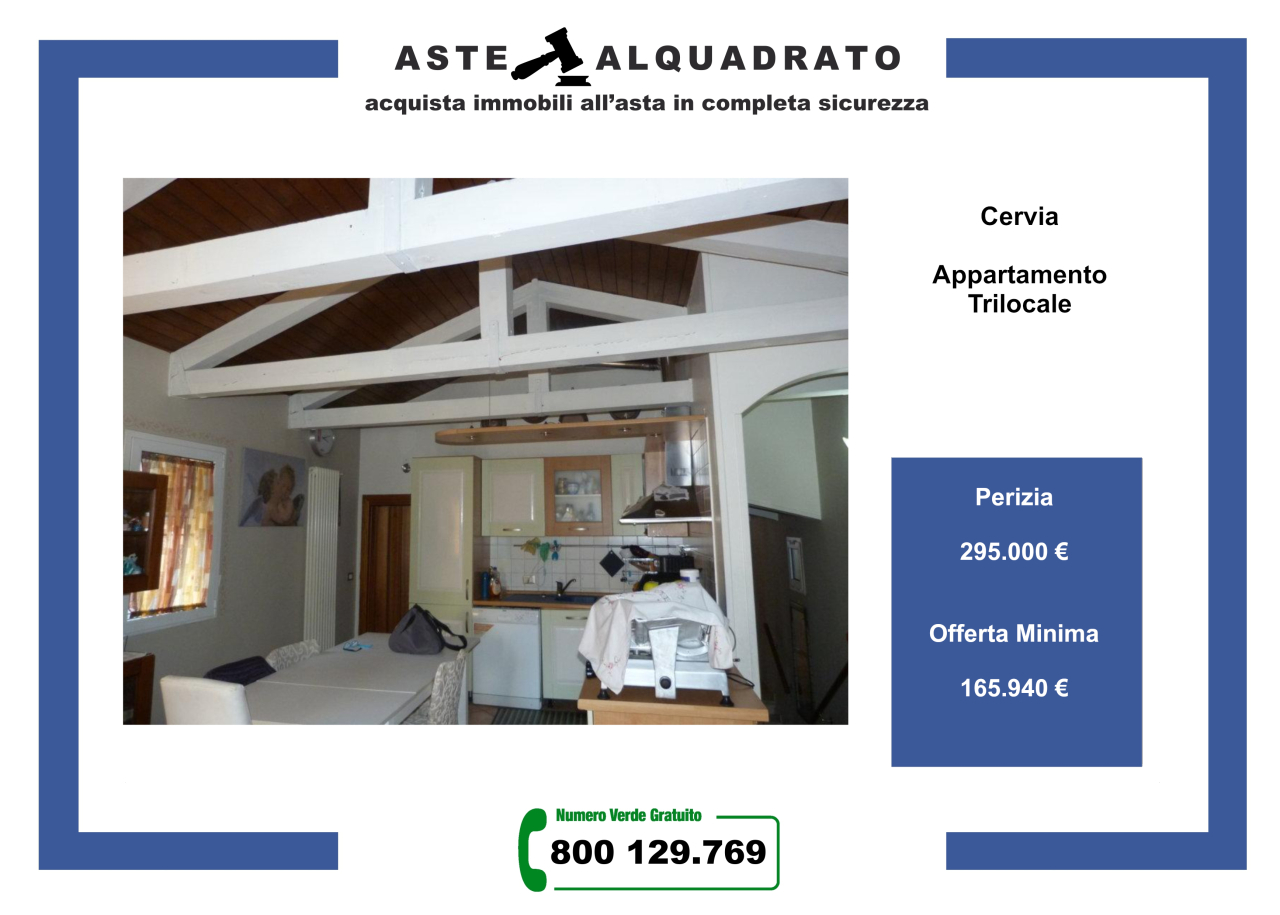 Appartamento in vendita a Cervia - Milano Marittima, 3 locali, prezzo € 165.940   PortaleAgenzieImmobiliari.it