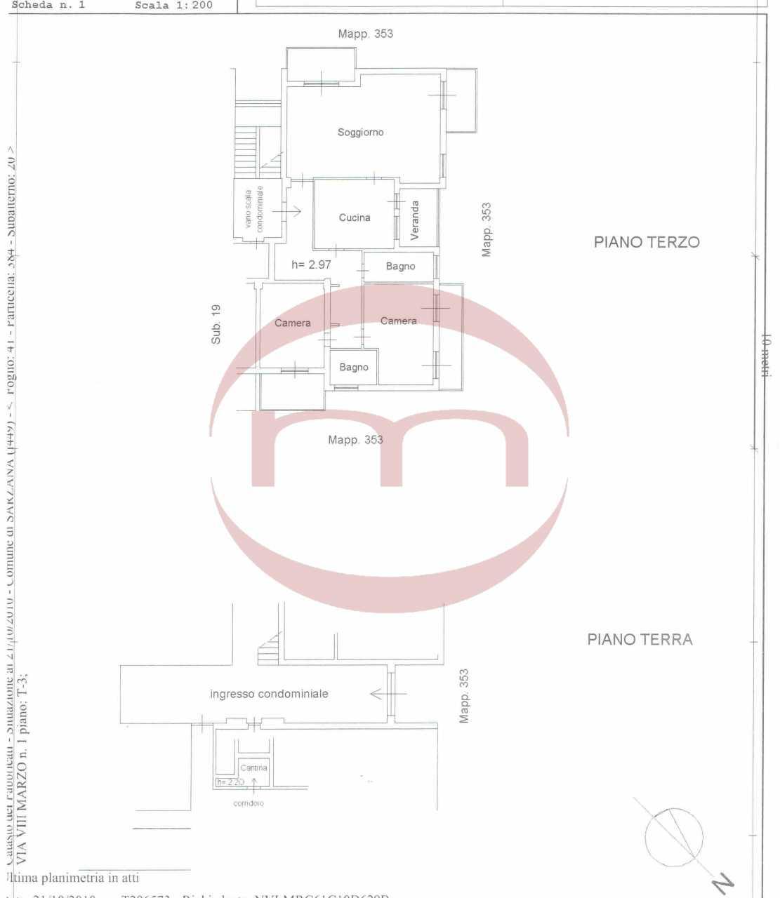 Appartamento in buone condizioni arredato in affitto Rif. 10063423