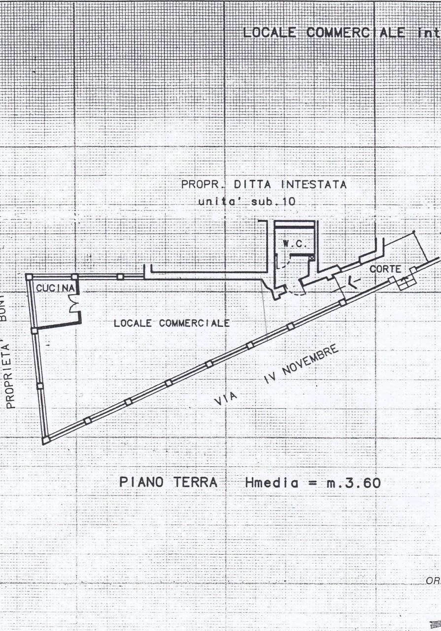 Locale commerciale a Grottaferrata Rif. 12143220