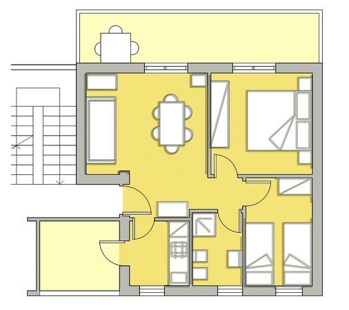 Appartamento in discrete condizioni in vendita Rif. 7240547