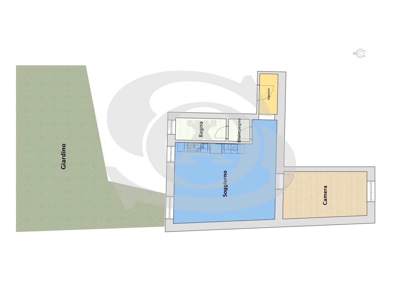 Appartamento - Bilocale a Ospedaletti