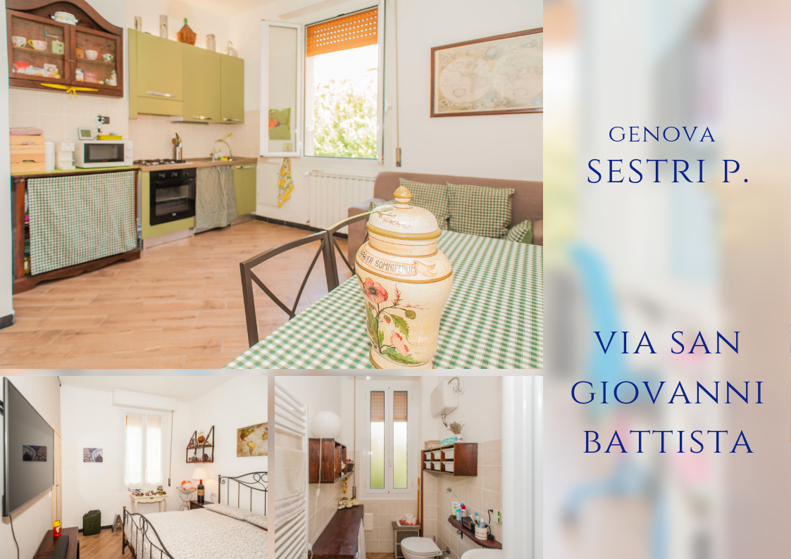 Appartamento a Sestri Ponente, Genova