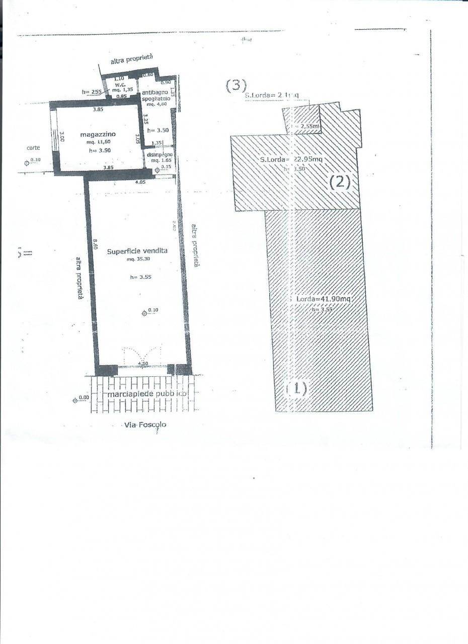 Locale commerciale - 1 Vetrina a Viareggio Rif. 8476877