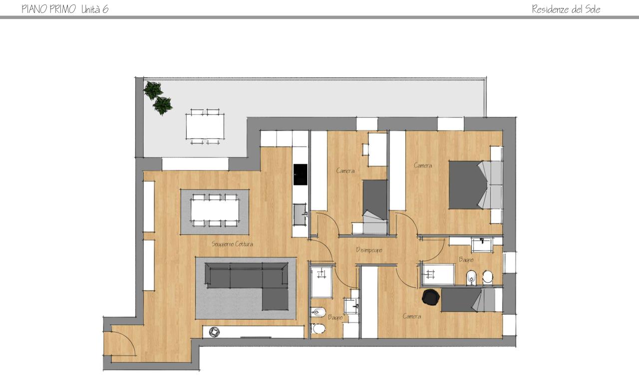 Appartamento - Attico a Caselle, Selvazzano Dentro