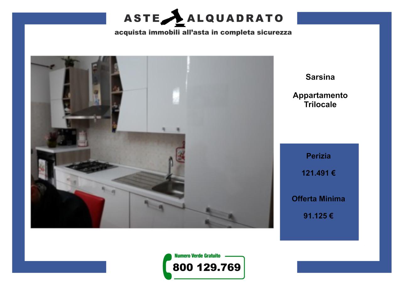 Appartamento in vendita a Sarsina, 3 locali, prezzo € 91.125 | PortaleAgenzieImmobiliari.it