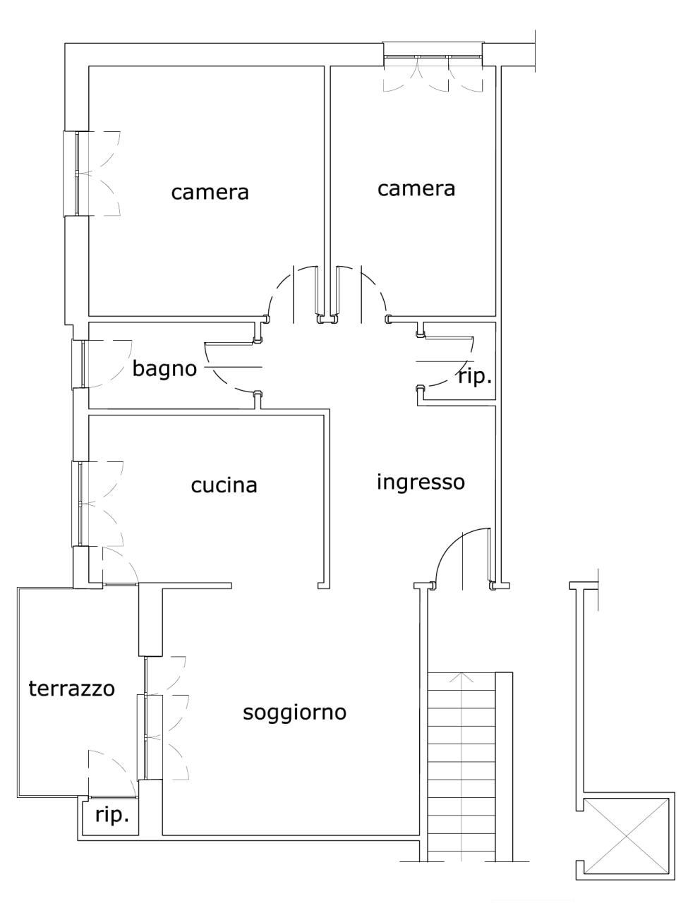 Appartamento in vendita a Albisola Superiore, 4 locali, prezzo € 225.000 | PortaleAgenzieImmobiliari.it