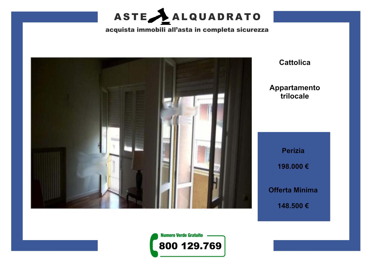 Appartamento in vendita a Cattolica, 3 locali, prezzo € 148.500 | CambioCasa.it