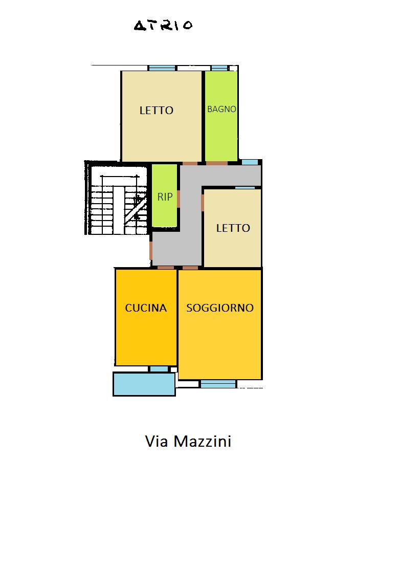 Appartamento in discrete condizioni in vendita Rif. 6192847