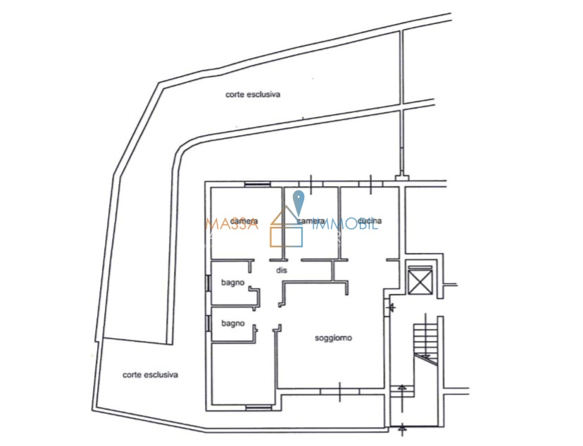 Appartamento - Pentalocale a Massa