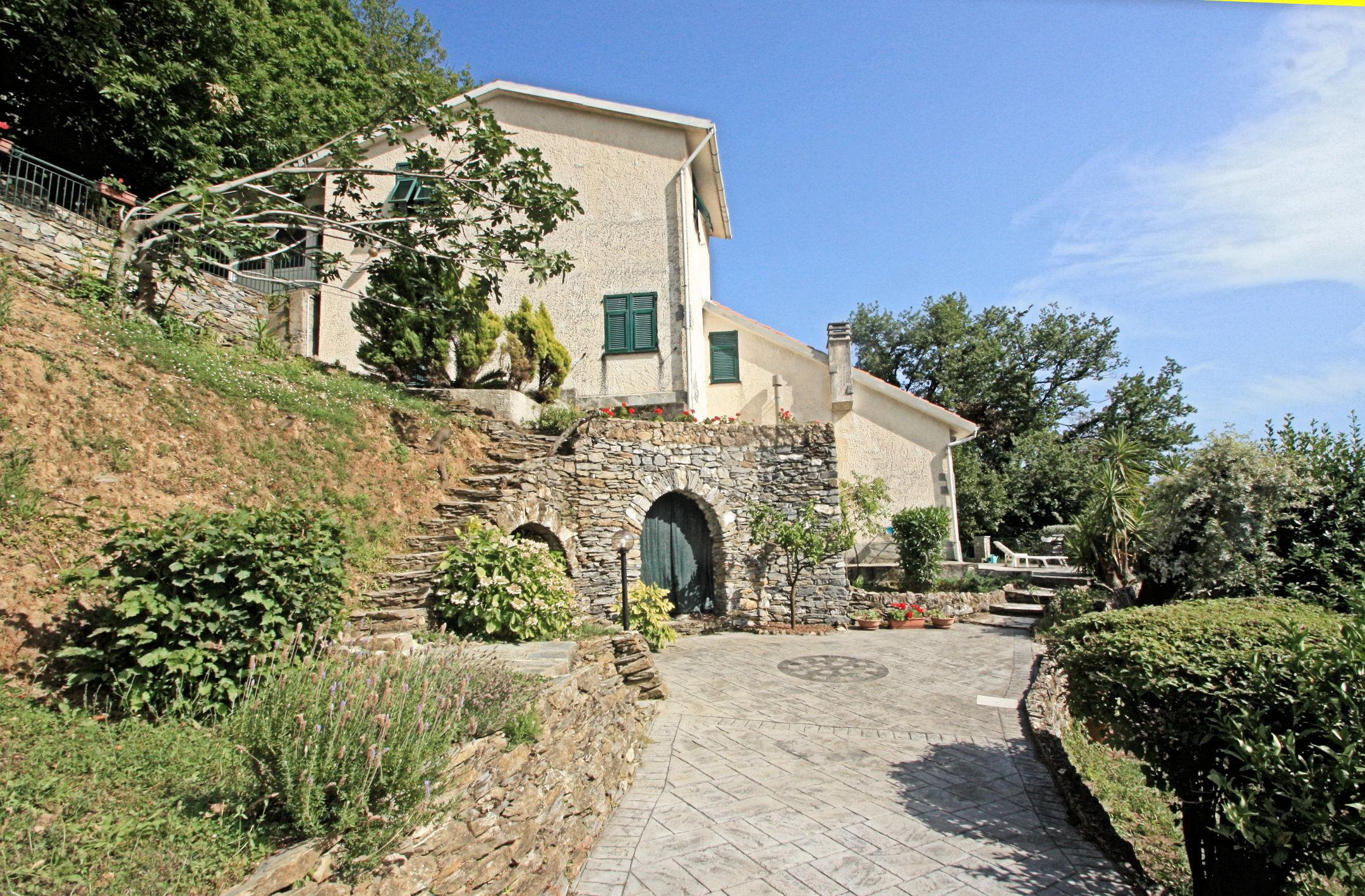 Codice 55 case villa o casa indipendente in vendita a avegno immobiliare il perimetro - Valutazione immobile casa it ...