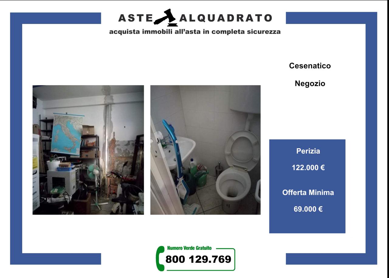 Negozio / Locale in vendita a Cesenatico, 1 locali, prezzo € 69.000   CambioCasa.it